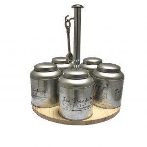 Tea Treasure Caroussel & Incl 5 Pack Smaken Thee
