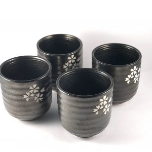Set 4 Cups Stone Chacult