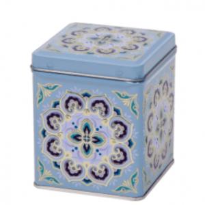 Maroc Vierkant Blik 100g Met Scharnierdeksel