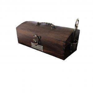 TT-01 Tea Treasure Box Brown